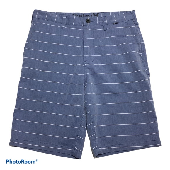 Hurley Shorts Nike Dri-Fit Technology Size 30 Blue